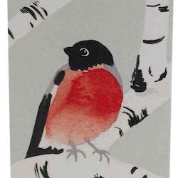 Domherre minikort 1 från Cult design. Mått: 5,8 x 8,6 cm.