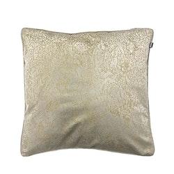 Lazio ett kuddfodral i sammet. Färg: Kitt och guld.