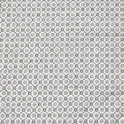 Löpare i bomull i ett marockanskt mönster. Färg: Vit med ett beige mönster.