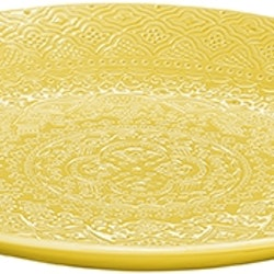 Orient fruktfat saffran. Färg: Saffran, gul.