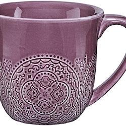 Orient kaffemugg i plommonlila från Cult design. Färg: Plommonlila.
