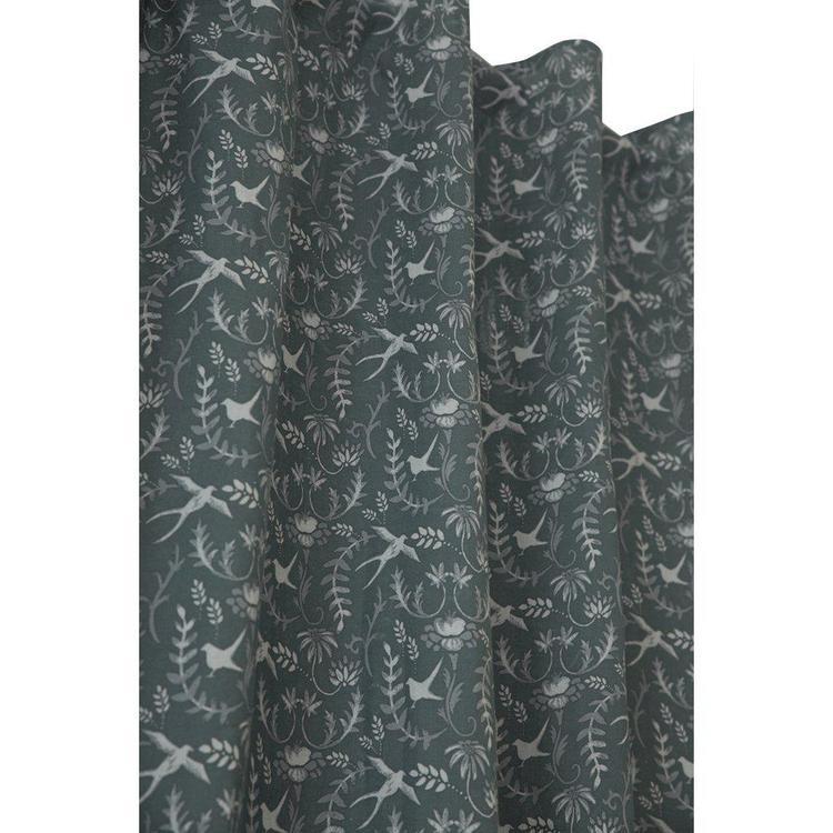 Svalor ett skönt gardinset med multiband, 9632-20-088. Färg: Blå.