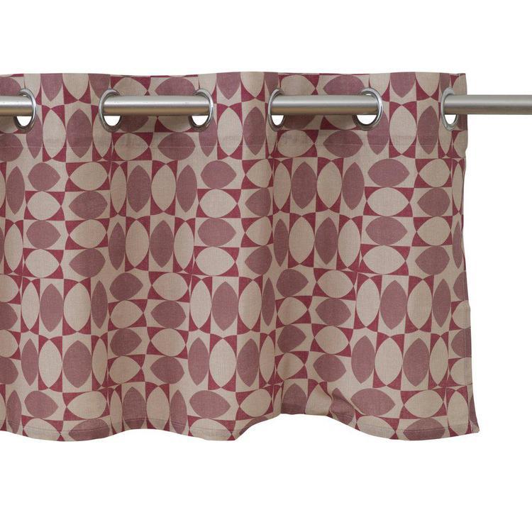Sonny en färdigsydd gardinkappa med öljetter. Art.nr: 9635-57-005. Färg: Rosa.