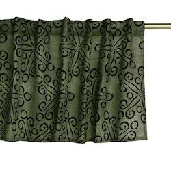 Aiden en färdigsydd gardinkappa med multiband. Art.nr: 9489-36-007. Färg: Grön.