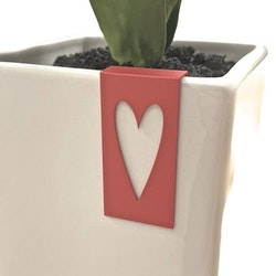 Tag Hjärta från Cult design. Färg: Röd.