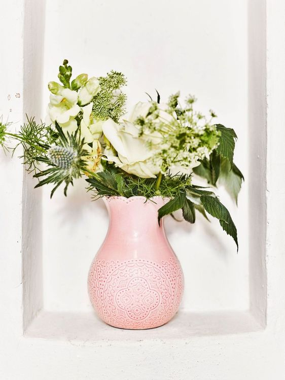 Orient blomvas rosé stor från Cult design. Färg: Rosé. Rosa.