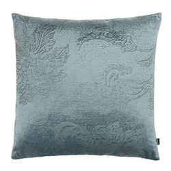 Roma paisley ett kuddfodral i sammet. Färg: Aqua.