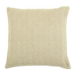 Pure Decor ett grovt vävt kuddfodral i 100% bomull, art.nr: N891740-11. Färg: Beige.