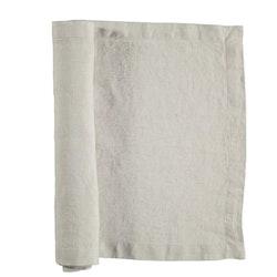 Löpare i tvättat linne från Gripsholm. Artikelnr 917328. Färg: Lunar rock, off-white..