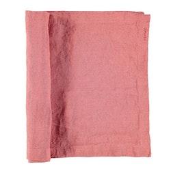 Löpare i tvättat linne från Gripsholm. Artikelnr 917328. Färg: Withered rose, rosa..