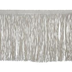 Glammit frans, 12 cm. Färg: Off-white