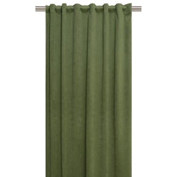 Chelly ett gardinset med multiband i sammet. Art.nr 9836-20-770.  Grön.