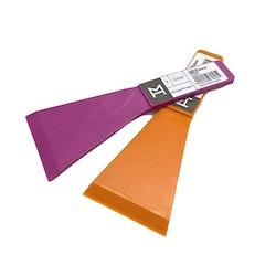 Color en spisskrapa för hällspisar från Modern house. Färg: Lila.