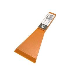 Color en spisskrapa för hällspisar från Modern house. Färg: Orange.