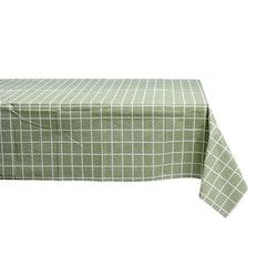 Grönrutig 2 är en rektangulär vaxduk från Noble house. Färg: Grön med vita rutor.