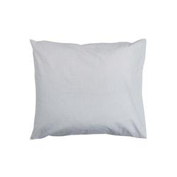 Örngott Plain i 100% bomull, 45 x 50 cm från Noble house. Färg: Grå.