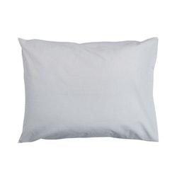 Örngott Plain i 100% bomull, 50 x 70 cm från Noble house. Färg: Grå.