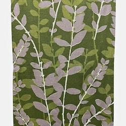 REA! 8631 panelgardiner i 2 pack. Färg: Grön med grå, vita och gröna kvistar.