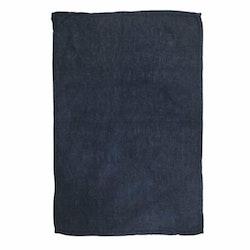 Lovly en kökshandduk i tvättat mjukt linne. Färg: Blå.