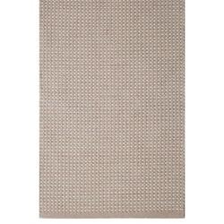 Vilde en skön bomullsmatta med ett rutmönster, 70 x 240 cm. Färg: Rosa och off-white.