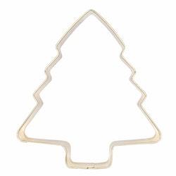 Gold Julgran en pepparkaksmått/form från Modern house. Färg: Guld.