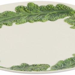 Veggie grönkål fat från Cult design. Färg: Vit och grön.