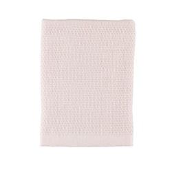 Frottéhandduk Waffle från Gripsholm. Färg: Misty pink.