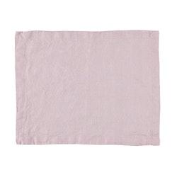 Bordstablett i tvättat linne från Gripsholm i 2-pack. Färg: Dimlila.