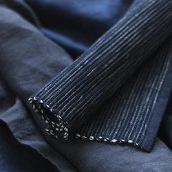 Malte en ripstablett i bomull från Gripsholm i 2-pack. Färg: Marinblå.