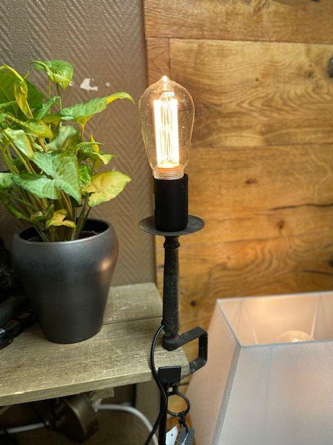 Lampa med Tvingfot