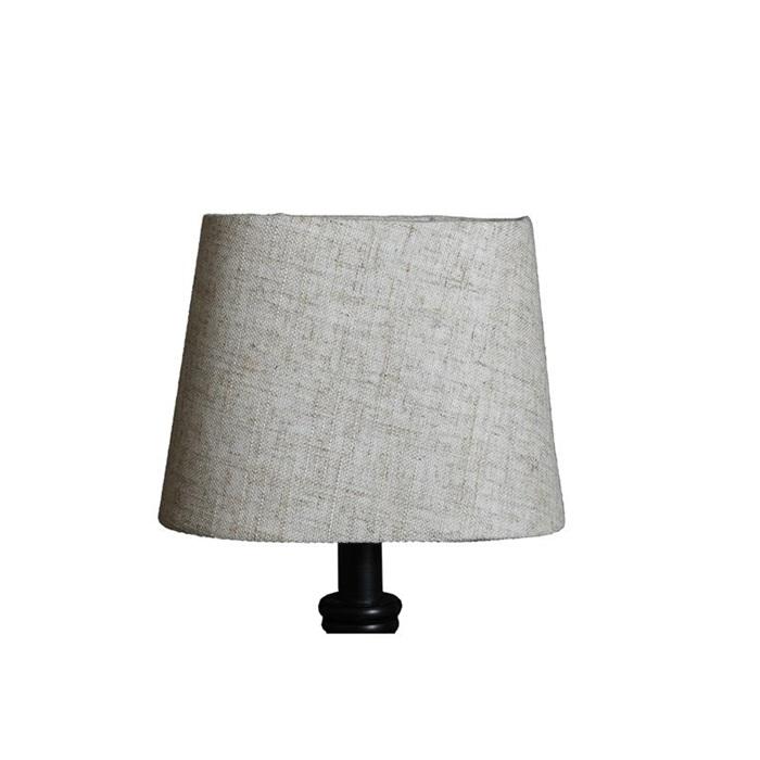 Lampskärm Grovlinne Oval