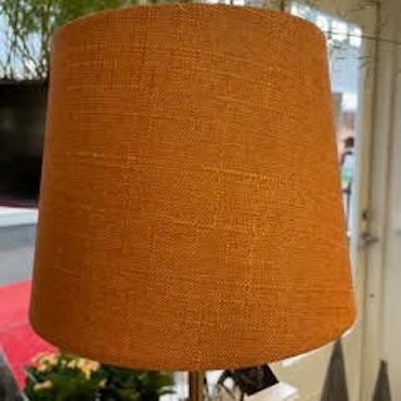 Lampskärm Grovlinne Orange