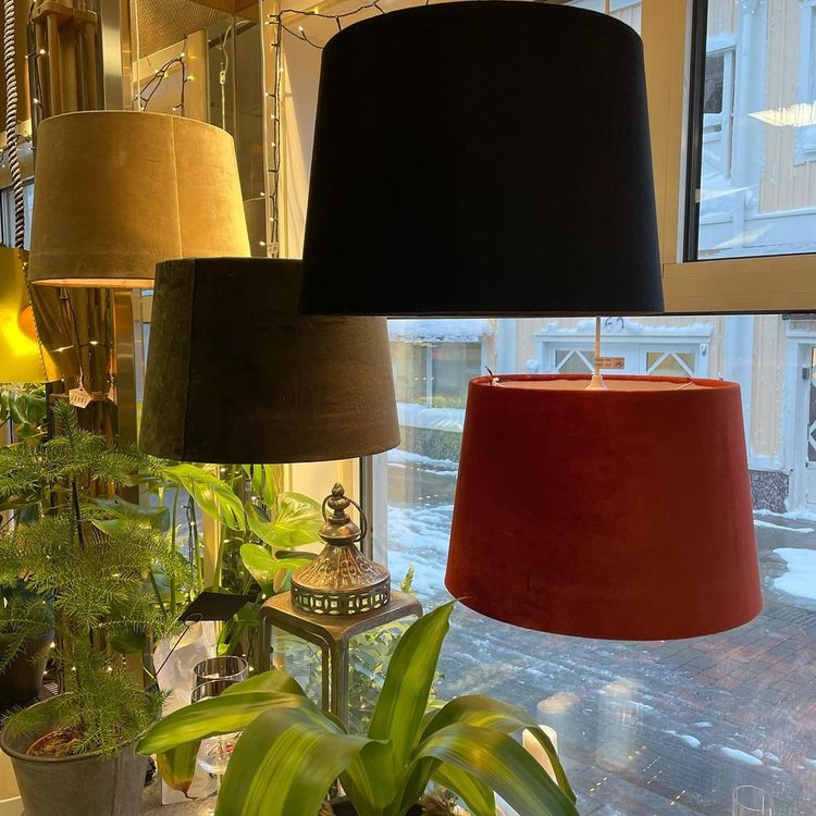 Lampskärm XL Sammet