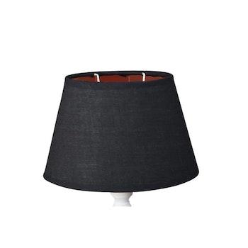 Lampskärm Silke/metall Svart