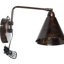 Vägglampa Antik Brun