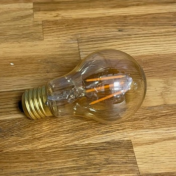 Rund Glödlampa Led E27