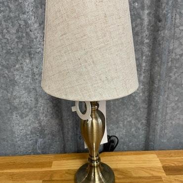 Lampskärm Grovlinne Beige