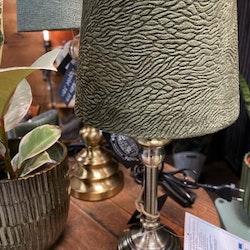 Lampskärm Grön med Mönster