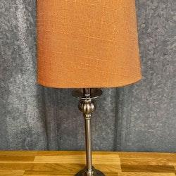Lampskärm Grovlinne Oval Orange