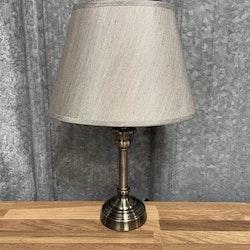 Lampskärm Silke Grå Oval