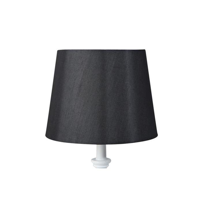 Lampskärm Silke Svart