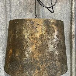 Taklampa Svart/guld
