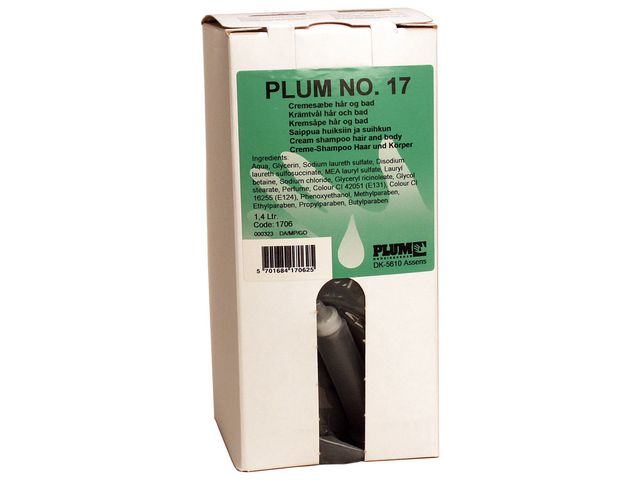 Duschtvål 3in1 Hair och Body Plum 1,4L