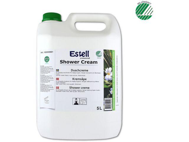 Duschtvål ESTELL Duschcreme 5L - 3st/frp