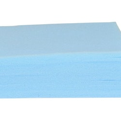 Tvättlapp skum 20x27x0,3cm 75/FP