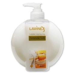 Tvål LAWINEX Mjölk och Honung 500ml