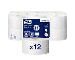 Toalettpapper TORK Adv T2 2-lag 12/FP