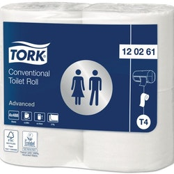 Toalettpapper TORK Adv T4 2-lag 4/FP