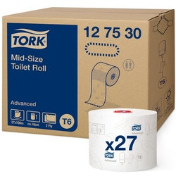 Toalettpapper TORK Adv T6 2-lag 27/FP