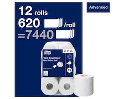Toalettpapper TORK Adv T9 2-lag 12/FP